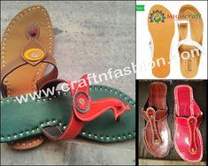 Peacock Style Ladies Leather Chappal. #Craftnfashion #FashionableChappal #LatestDesignChappal #DesignerChappal #HandmadeChappal #EthnicFootwear #GujaratiChappal #DesignerChappal #BohemianChappal #BanjaraChappal Palm Beach Sandals, Miller Sandal, Tory Burch, Slippers, Footwear, Indian, Lady, Leather, Accessories