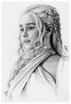 Daenerys Targaryen by FinAngel.deviantart.com on @DeviantArt
