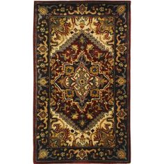 You'll love the Ravens Black/Ivory Area Rug at Wayfair - Great Deals on all Rugs products with Free Shipping on most stuff, even the big stuff.