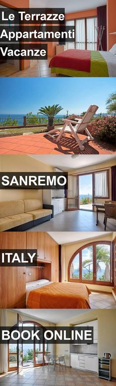 Hotel Le Terrazze Appartamenti Vacanze in Sanremo, Italy. For more information, photos, reviews and best prices please follow the link. #Italy #Sanremo #travel #vacation #hotel