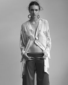 Stephen Ward Captures Emily Jean Bester in Bedroom Style for Russh #46