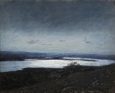 Moonlight from Langsø, Denmark by Julius Paulsen on Curiator, the world's biggest collaborative art collection. Creative Skills, Collaborative Art, Birds Eye View, Moonlight, Sculpture Art, Oil On Canvas, Abstract Art, Wall Art, Artwork