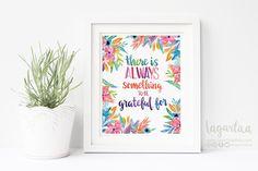 https://www.etsy.com/mx/listing/504840581/agradecido-frases-para-la-casa #Thankful #quotes #prints #watercolor #bethankful #givethanks #handmade #handwritting #art