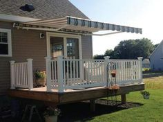7 Best Retractable Fabric Awnings Images Patio Awning Fabric