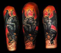 Badass, Terrifying Devil Tattoos! | INKEDD