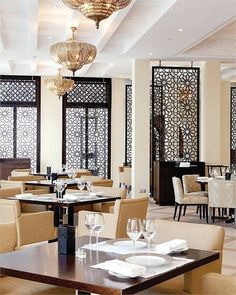 Get ready to fall in love with the Asian decor and their Best Interior Designers. Asian Interior Design, Restaurant Interior Design, Best Interior, Asian Design, Restaurant Furniture, Restaurant Ideas, Luxury Restaurant, Moroccan Restaurant, Restaurant Lighting