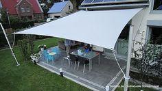 sonnensegel f r terrasse und balkon inspiration. Black Bedroom Furniture Sets. Home Design Ideas