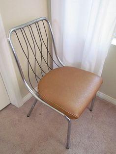 Vintage Mid Century Modern VIRTUE BROTHERS Chair