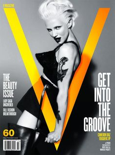 'The Beauty Issue', Cameron Diaz dy Mert  Marcus for V Magazine #60.