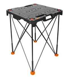 The Worx Sidekick portable work table is a compact, lightweight yet extremely sturdy table has a detachable tabletop design that offers maximum versatility and portability to create a workstation Portable Workbench, Workbench Top, Folding Workbench, Workbench Ideas, Portable Work Table, Mechanic Tool Box, Game Room Tables, Table Top Design, Serving Table
