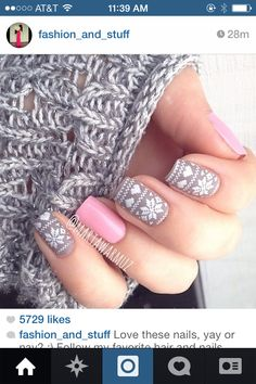 It's sweater weather, but it's always great nails weather!
