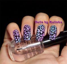 Nails by Malinka: Born Pretty plate BP-28