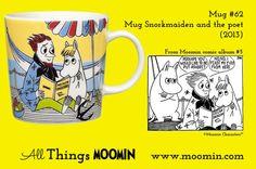 62 Moomin mug Snorkmaiden and the poet Moomin Mugs, Poet, My Eyes, Childhood, History, Tableware, Friends, Blog, Amigos