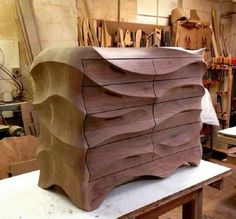 Impressive chest of drawers By KMP Furniture | WoodworkerZ.com