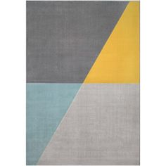 Add a sweet look to your dwelling by selecting this BALTA Jameson Grey Color Block Polypropylene Area Rug. Mustard Living Rooms, Teal Living Rooms, Living Room Decor Colors, Bedroom Wall Colors, Grey And Yellow Living Room, Boy Room Color Scheme, Grey Living Room Ideas Color Schemes, Bedroom Color Schemes, Decorating Color Schemes