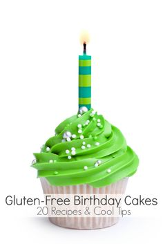 Gluten-Free Birthday Cakes: 20 Recipes & Cool Tips | BoulderLocavore.com