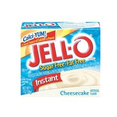 Healthy Snack: Jell-  Healthy Snack: Jell-O Sugar Free Fat Free Instant Cheesecake Pudding - 40 Crunchy and Creamy Healthy Snack Ideas Under 200 Calories - Shape ...