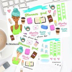 Planner Girl Sticker  Erin Condren/Happy Planner/Passion