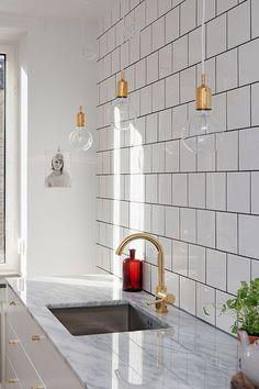 lately loving: offset square white tile | Nyla Free Designs