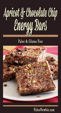 Easy paleo recipe for grab-n-go energy bars packed tight with healthy goodness and awesome flavor.