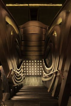 The Restaurant & Bar Design Awards is the world's only event dedicated exclusively to the design of food and drink design spaces Lounge Design, Bar Lounge, Light Architecture, Architecture Design, Speakeasy Decor, Nightclub Design, Bar Design Awards, Stair Handrail, Stair Steps