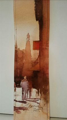 Jacek Jaroszewski -Lodz, watercolour 2015