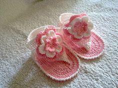 sandali neonato uncinetto - Cerca con Google