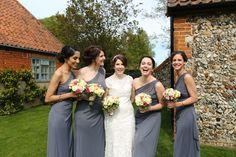 fun group shot with bridesmaids, the granary barns suffolk Bridesmaids, Bridesmaid Dresses, Wedding Dresses, Fun Group, Group Shots, Barns, Elegant Wedding, My Photos, Style