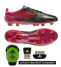 Put on some Adizero cleats they are some eye catching footwear. soccercorner.com