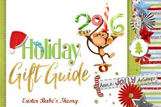 Easter Babe's Theory: Holiday Gift Guide 2016