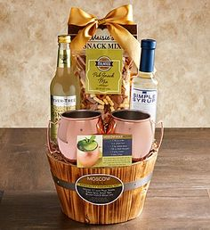 Moscow Mule Cocktail Gift Basket
