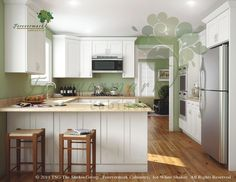 KCK cabinetry - Ice White Shaker Kitchen Cabinets by Kitchen Cabinet Kings - Buy Kitchen Cabinets Online and Save Big with Wholesale Pricing!