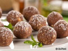 Mint Julep Balls - What would a Kentucky Derby party be without some Mint Julep Balls served up as an appetizer? Wear your fanciest hat and enjoy!