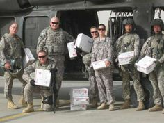 Anysoldier.com Choose a military branch, read letters from soldiers and request their address to send them packages or letters.