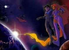 Robin, Nightwing And Starfire, Teen Titans, Otp, Dc Comics, Geek Stuff, Marvel, Cosplay, Comics