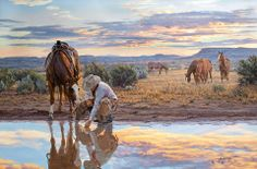 Tim Cox Reflections of a Passing Day Native American Art, Western Art, and Wildlife Art. Fine art prints and posters framed, custom framing Fine Art Photo, Photo Art, Western Horseman, Le Far West, Country Art, Wildlife Art, Horse Art, Native American Art, Horses