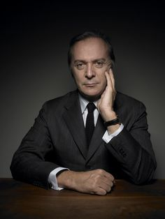 Portrait of Umberto Angeloni CEO of Brioni Fashion