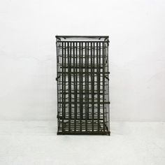 This Wine Cage, Probably Manufactured In The 1920s, Is Made From Riveted  Steel Strips. The Grid Allows Light To Pass Through It, Allowing Up To 100  Bottles ...