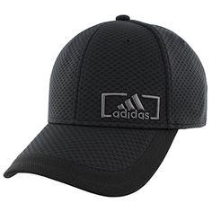 e08e33b9853 Adidas Mens Amplifier Stretch Fit Cap