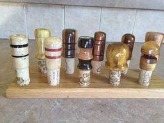 Lathe Turned Bottle Stoppers