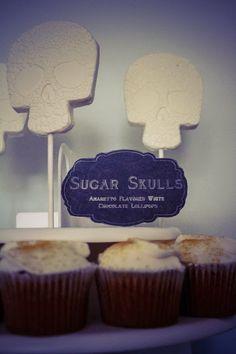 Amaretto Chocolate Sugar Skulls     The Frosted Petticoat
