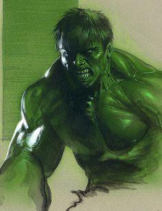 Hulk by Gabrielle Dell Otto
