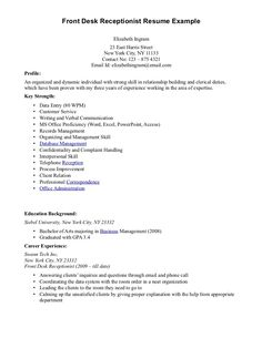 Basic Resume Examples Skills Resumes Simple Sample Format