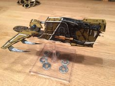 Bossk is a beast! Some ships just look way cooler when they get some nose art, and who wouldn't want nose art! Come see one amazing repaint.