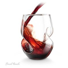 Conundrum Red Wine Glasses (Set of 4) (€35) ❤ liked on Polyvore
