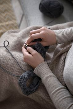 "The flames are crackling in the fireplace, the sweet scent of tea hangs in the air, and Anna and Clara have settled down with their knitting. The sisters invite you into the warmth of their home to share their special recipe for moments of 'hygge' – of contentment, peacefulness and experiences for the senses. ""'Hygge' is all about enjoying the present moment,"" as Anna and Clara like to remind each other. Explore all the products and more in your local Søstrene Grene store from 30 January… Contentment, Special Recipes, Hygge, Invite, January, Anna, In This Moment, Explore, Knitting"