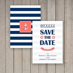 Hey, I found this really awesome Etsy listing at https://www.etsy.com/listing/190534170/nautical-save-the-date-nautical-save-the