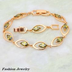 Find More Charm Bracelets Information about Cheap trendy jewelry 18K yellow Gold plated Bracelets Olivine fashion jewelry 20.5cm 8.07 inch B011 Free Shipping,High Quality jewelry helper,China jewelry world Suppliers, Cheap jewelry magic from Dana Jewelry Co., Ltd. on Aliexpress.com