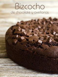 Bizcocho de chocolate y avellanas | Pecados de Reposteria
