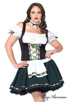 Costume Grande Taille Jolie Bavaroise - LEG AVENUE - http://www.idplaisir.com/Costume-Grande-Taille-Jolie-Bavaroise-LEG-AVENUE-a5822.html